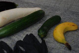 Bild vom Gemüse aus dem Sex-Video
