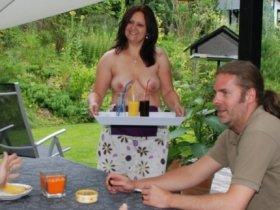 Gastfreundschaft auf Ninapies Terrasse